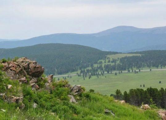 Семинский перевал в Горном Алтае