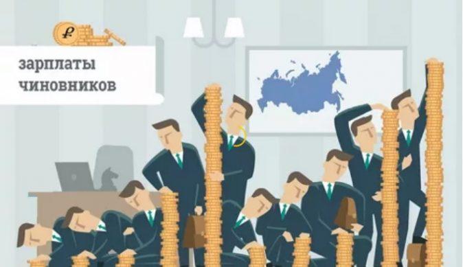 зарплаты чиновников в 2019 году