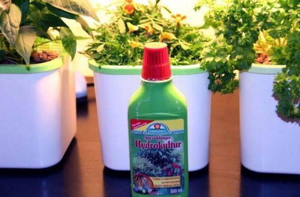 гидропоника как приготовить удобрение
