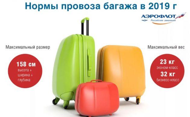новые правила провоза багажа в 2019 году