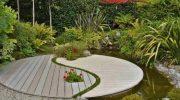 Садовый и ландшафтный дизайн по фэншуй