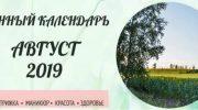 Лунный календарь: советы и запреты на август 2019