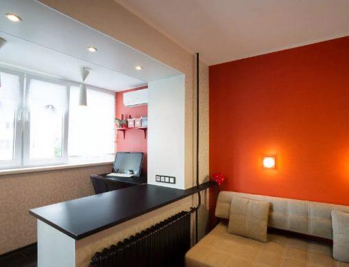 объединение комнаты и лоджии можно или нет?