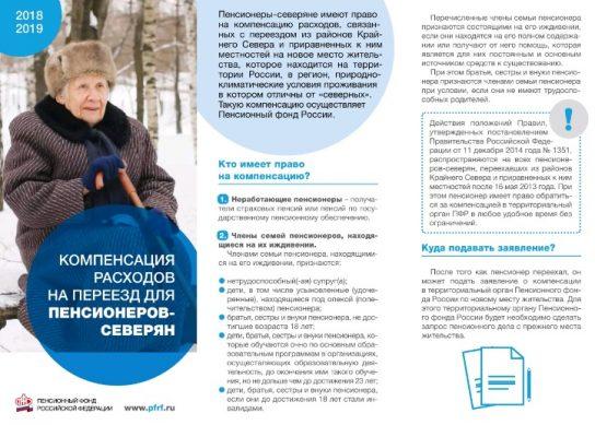 досрочная пенсия северянам