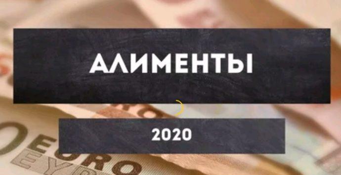 алименты 2020