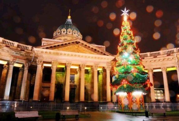 новогодние праздники спб 2020