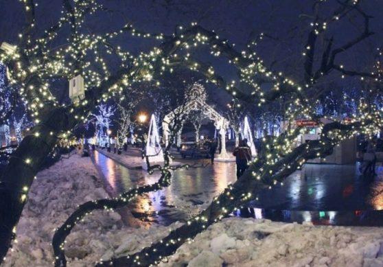 парк фили новый год