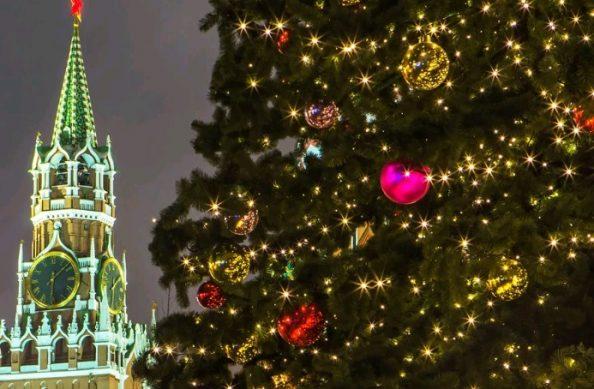 новгодние праздник в москве