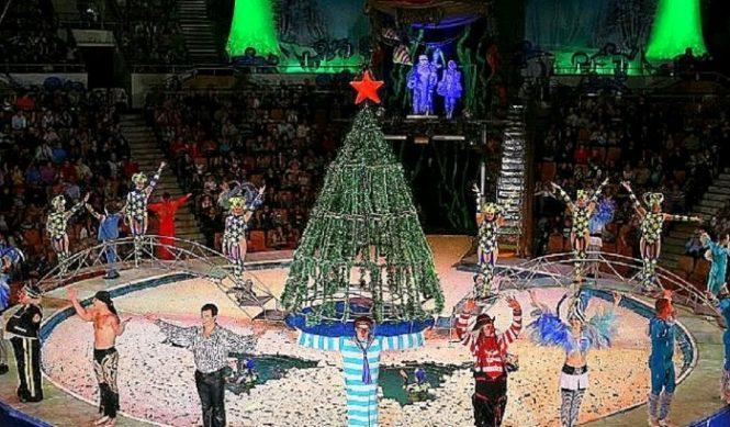 новогодний цирк