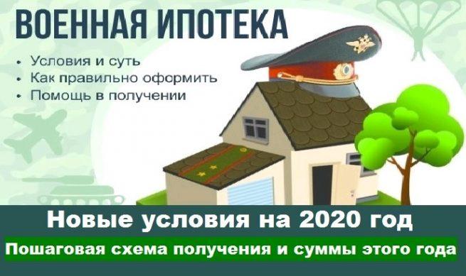 Военная ипотека на 2020 год - новые правила оформления, новые суммы выплаты